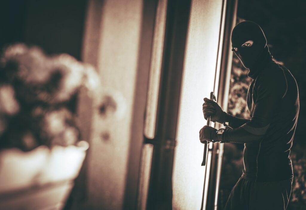 Home Burglar in a Mask